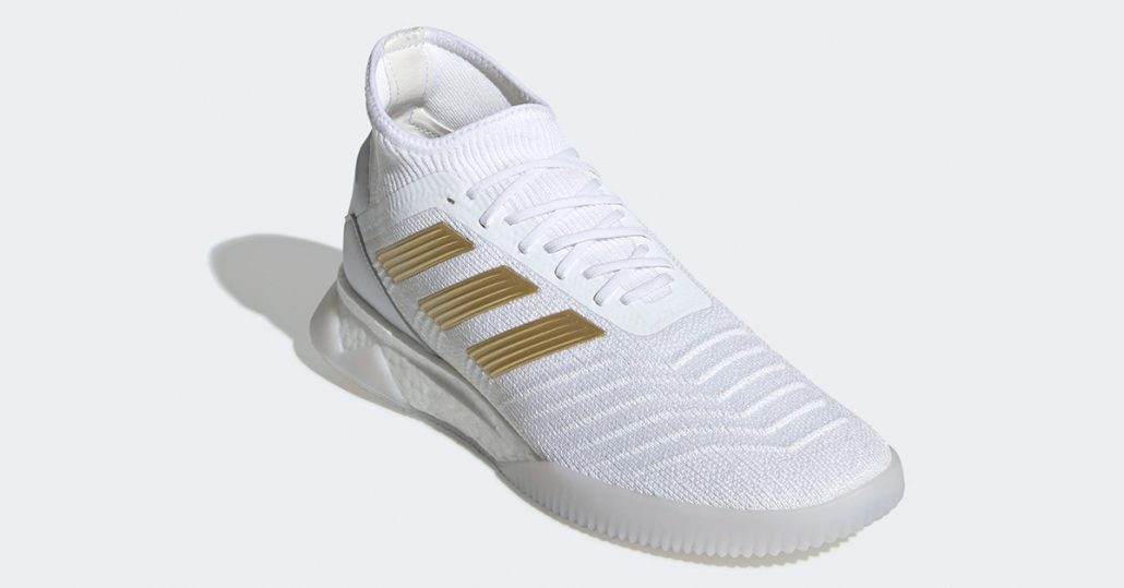 Hvide Adidas Predator 19.1 Indendørs Fodboldsko