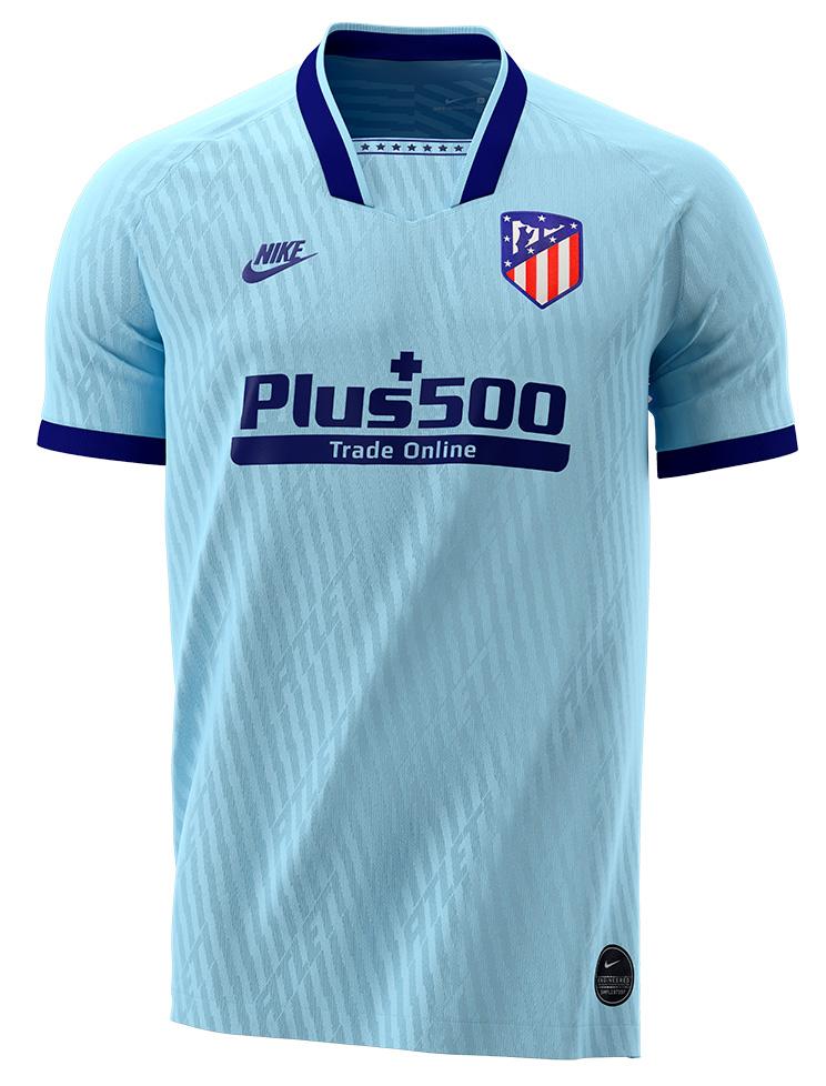 Lyseblå Atletico Madrid 3. Trøje 2019