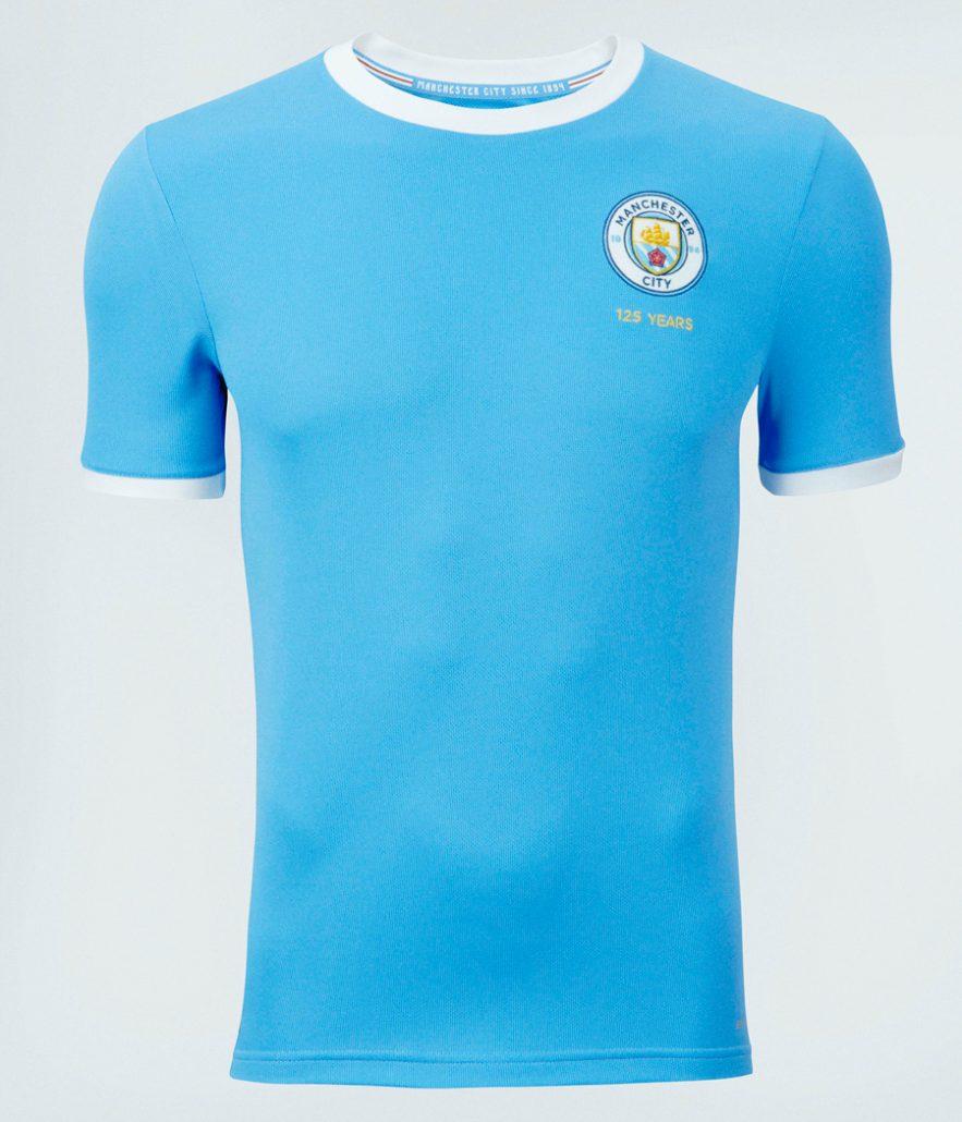 Manchester City 125 års Jubilæumstrøje