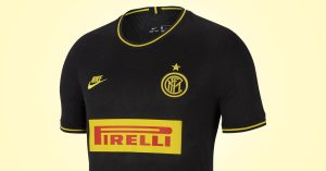 Sort FC Inter 3. Trøje 2019