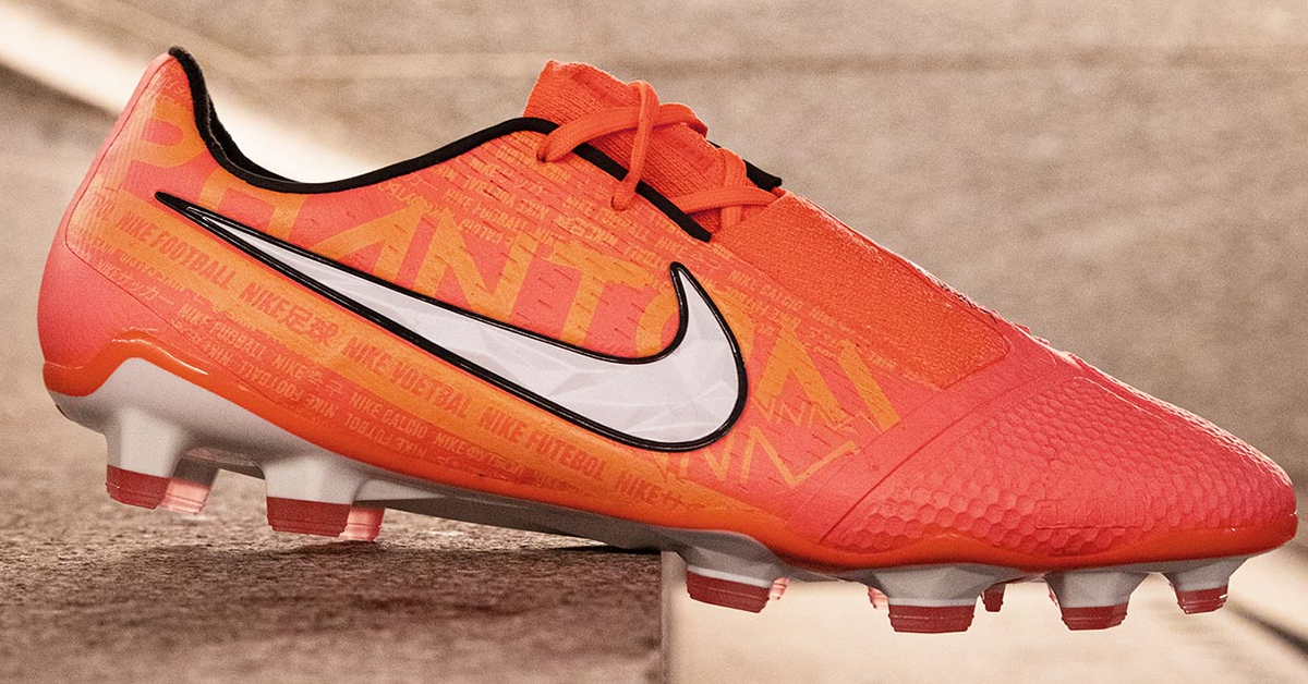 Orange Nike Phantom Venom Fodboldstøvler FodboldFreak.dk
