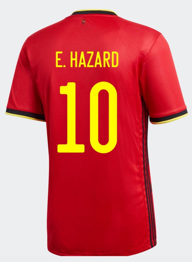Belgiens Hjemmebanetrøje til EM 2020