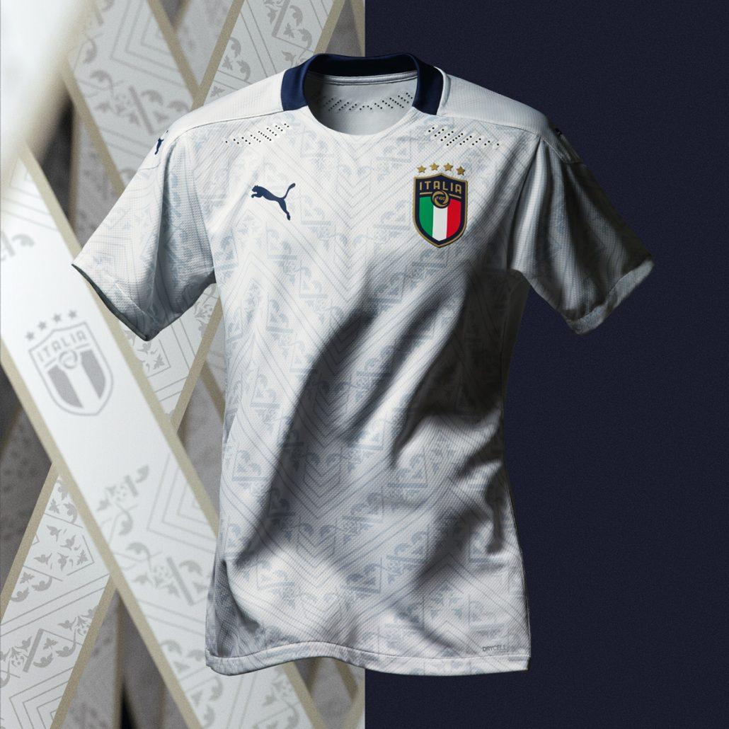 Italiens Udebanetrøje til EM 2020