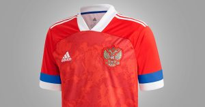 Rusland Hjemmebanetrøje 2019