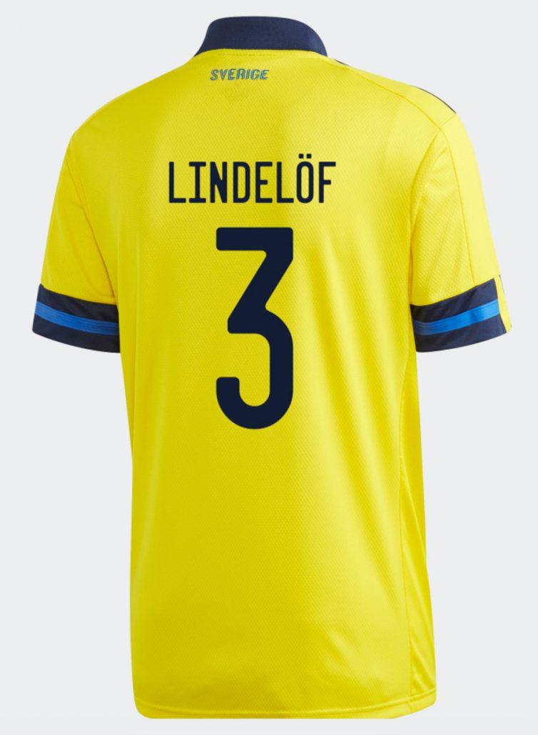 Sveriges Hjemmebanetrøje til EM 2020