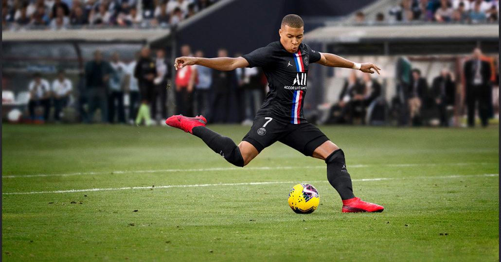 Mbappé Sort Paris Saint-Germain 3. Trøje 2020