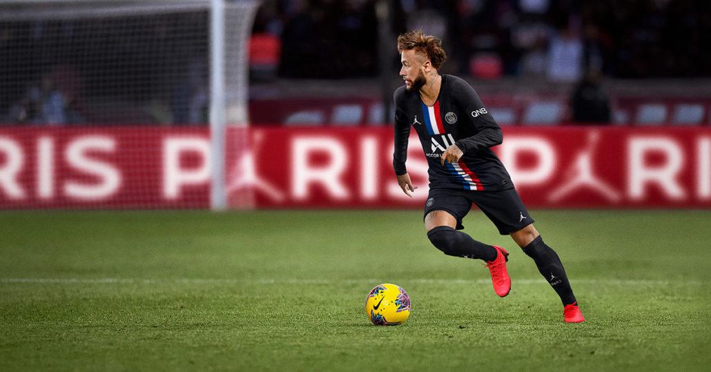 Neymar Sort Paris Saint-Germain 3. Trøje 2020