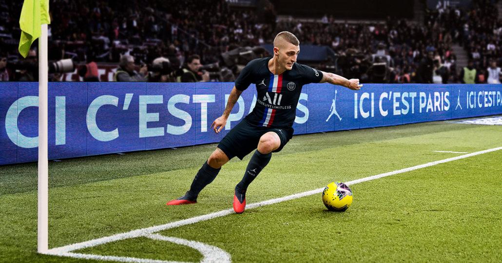 Sort Paris Saint-Germain 3. Trøje 2020