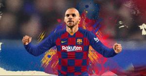 Martin Braithwaite FC Barcelona Fodboldtrøje