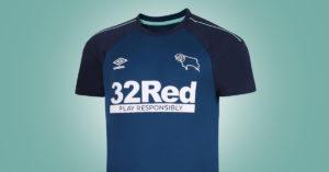 Derby County FC Udebanetrøje 2020