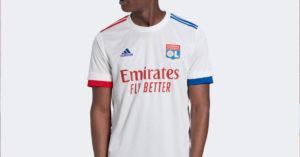 Hvid Olympique Lyon Hjemmebanetrøje 2020