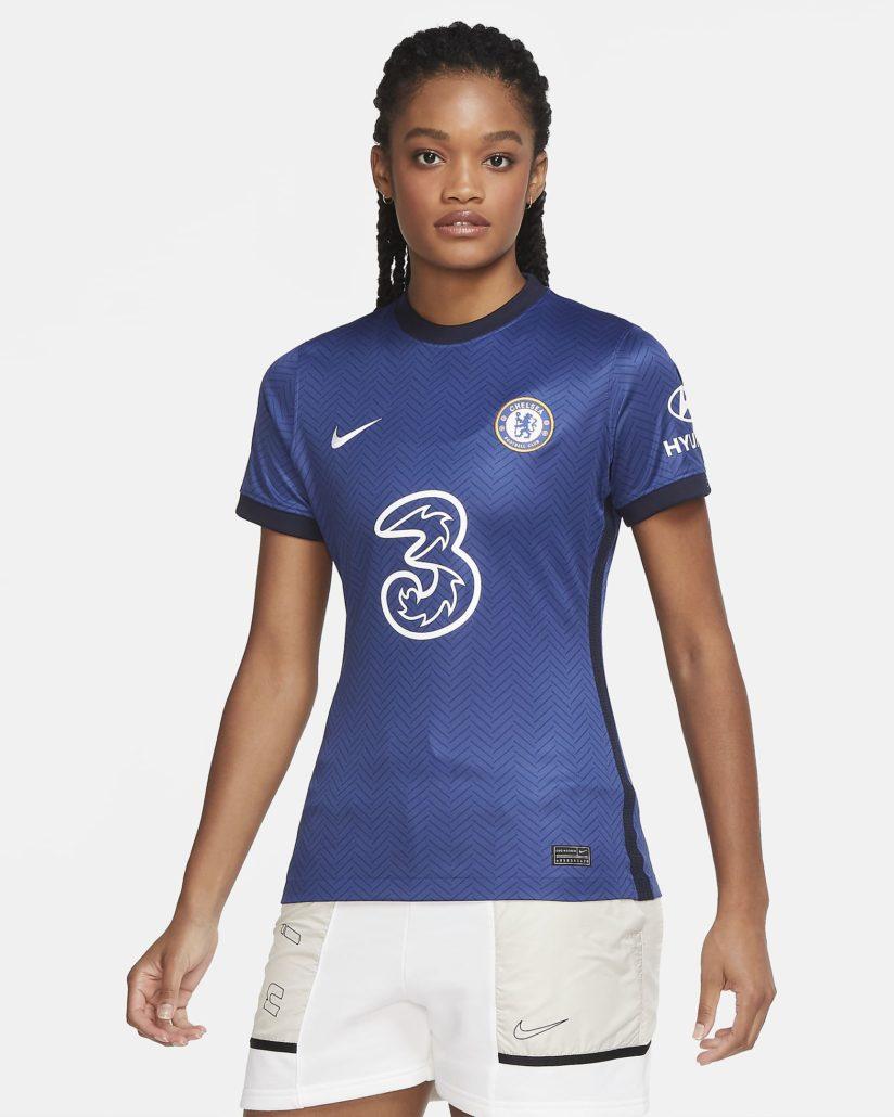 Blå Chelsea FC Hjemmebanetrøje 2020