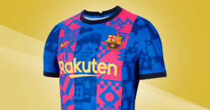 FC Barcelona 3. Trøje 2021