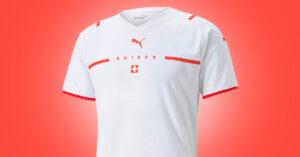 Schweiz Udebanetrøje EURO 2020