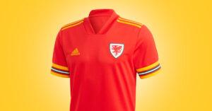 Wales Hjemmebanetrøje EURO 2020