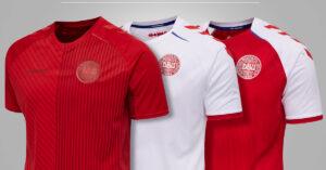 Danmarks fodboldtrøjer til EURO 2020