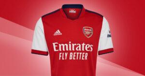 Arsenal FC Hjemmebanetrøje 2021