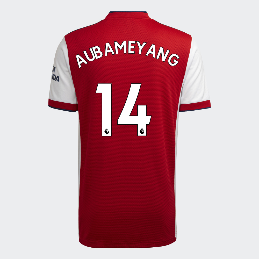 Aubameyang Arsenal FC Hjemmebanetrøje 2021