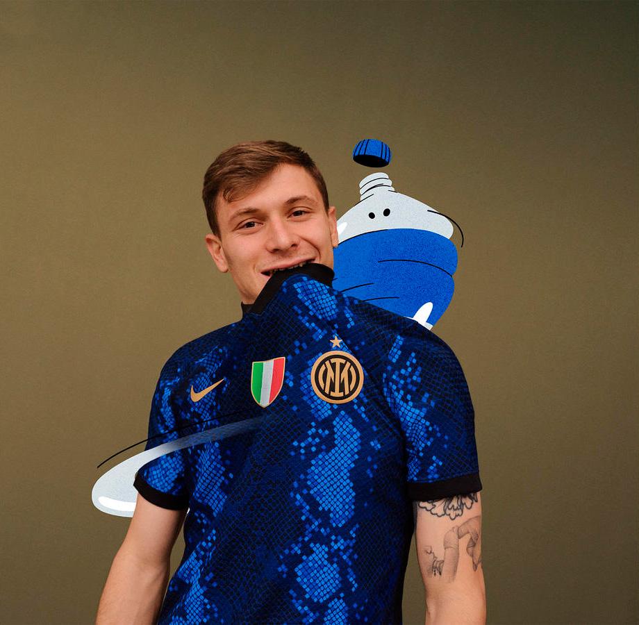 FC Inter Hjemmebanetrøje 2021