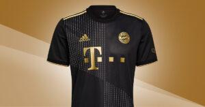 Sort FC Bayern München Udebanetrøje 2021