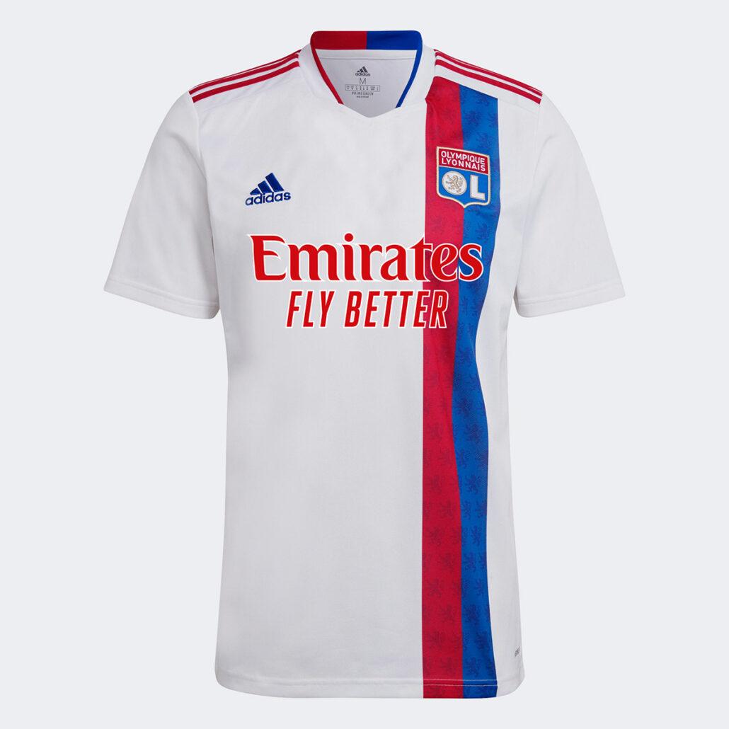 Olympique Lyon Hjemmebanetrøje 2021