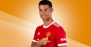 Cristiano Ronaldo Manchester United Fodboldtrøje