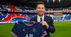 Lionel Messi Paris Saint-Germain Fodboldtrøje