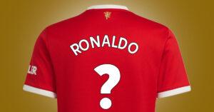 Cristiano Ronaldo får nummer X i Manchester United